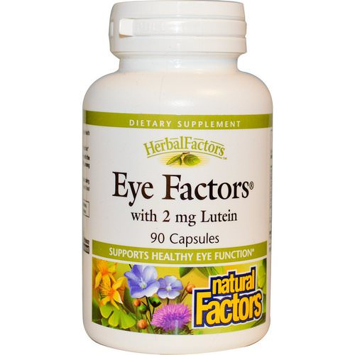 Natural Factors, Eye Factors with 2 mg Lutein, 90 Capsules Review