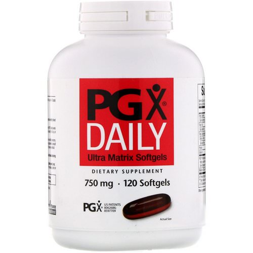 Natural Factors, PGX Daily, Ultra Matrix Softgels, 750 mg, 120 Softgels Review