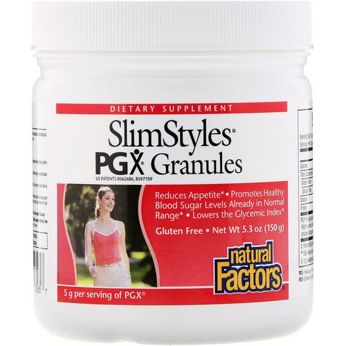Natural Factors, SlimStyles, PGX Granules, Unflavored, 5.3 oz (150 g) Review
