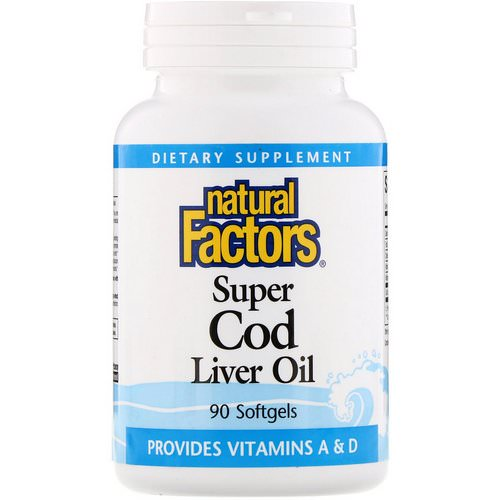 Natural Factors, Super Cod Liver Oil, 90 Softgels Review