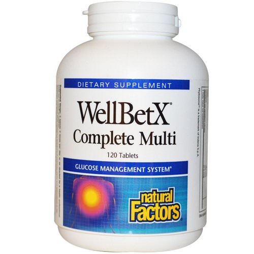 Natural Factors, WellBetX Complete Multi, 120 Tablets Review