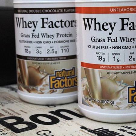 Natural Factors, Whey Protein Blends
