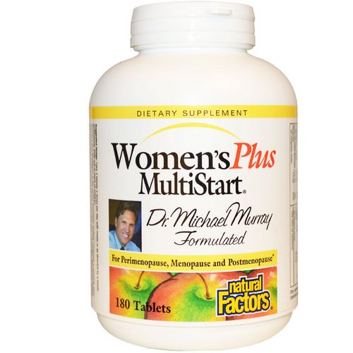 Natural Factors, Women's Plus MultiStart, 180 Tablets Review