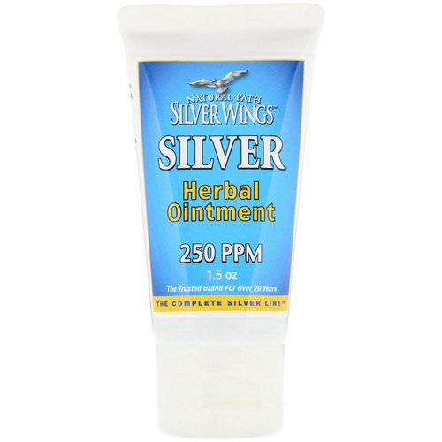 Natural Path Silver Wings, Silver Herbal Ointment, 250 PPM, 1.5 oz Review