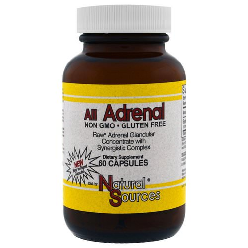 Natural Sources, All Adrenal, 60 Capsules Review