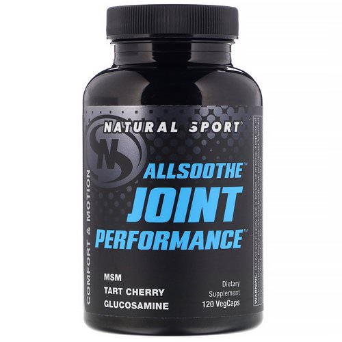 Natural Sport, AllSoothe, Joint Performance, 120 VegCaps Review