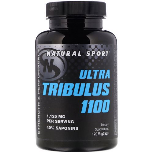 Natural Sport, Ultra Tribulus 1100, 120 VegCaps Review