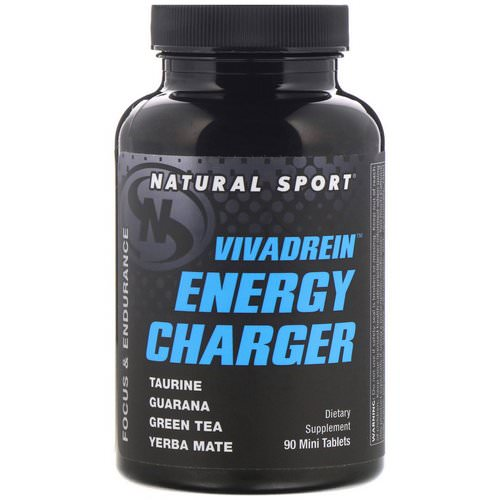 Natural Sport, Vivadrein Energy Charger, 90 Mini Tablets Review