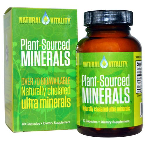 Natural Vitality, Plant-Sourced Minerals, 60 Capsules Review