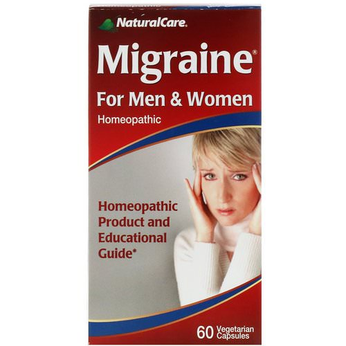 NaturalCare, Migraine, For Men and Women, 60 Capsules Review
