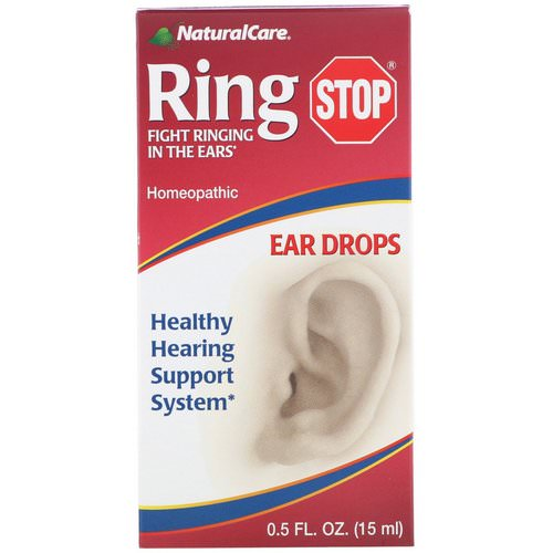 NaturalCare, Ring Stop, Ear Drops, 0.5 fl oz (15 ml) Review