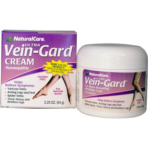 NaturalCare, Ultra Vein-Gard Cream, 2.25 oz (64 g) Review