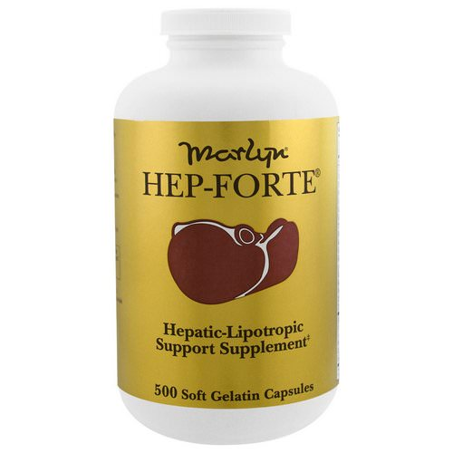 Naturally Vitamins, Marlyn, Hep-Forte, 500 Soft Gelatin Capsules Review
