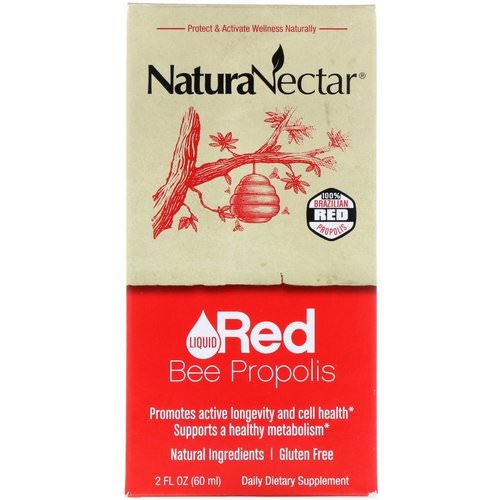 NaturaNectar, Liquid Red Bee Propolis, 2 fl oz (60 ml) Review