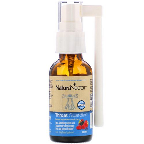 NaturaNectar, Throat Guardian Spray, Bee Berry, 10 ml Review