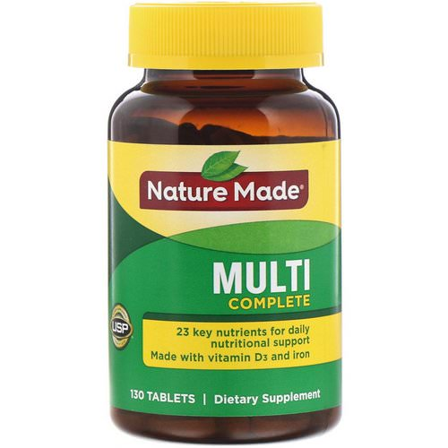 Nature Made, Multi Complete, 130 Tablets Review