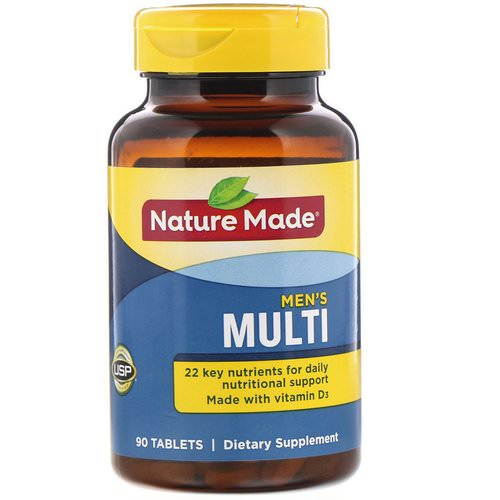 Nature Made, Men's Multi, 90 Tablets Review