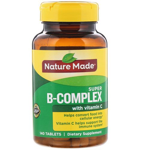 Nature Made, Super B-Complex with Vitamin C, 140 Tablets Review
