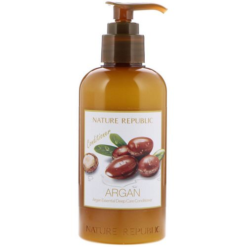 Nature Republic, Argan Essential Deep Care Conditioner, 10.13 fl oz (300 ml) Review