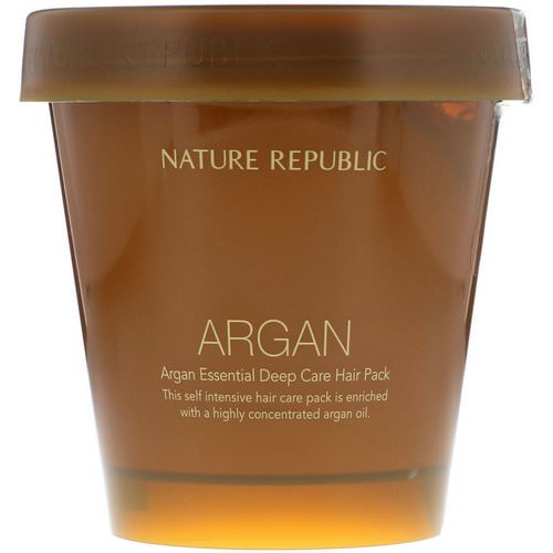 Nature Republic, Argan Essential Deep Care Hair Pack, 200 ml Review