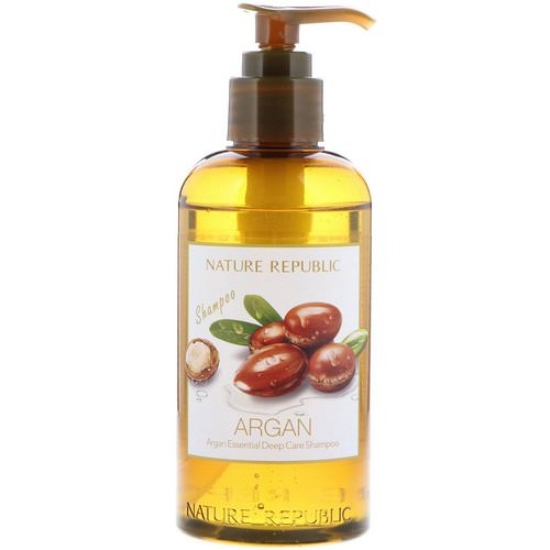 Nature Republic, Argan Essential Deep Care Shampoo, 10.13 fl oz (300 ml) Review
