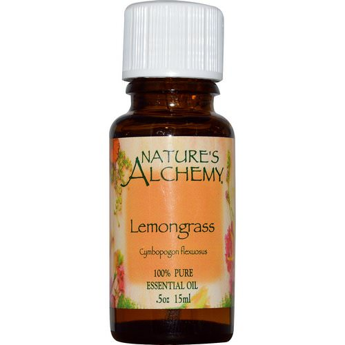 Nature's Alchemy, Lemongrass, Essential Oil, 0.5 oz (15 ml) Review