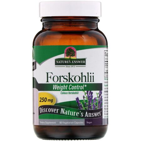 Nature's Answer, Forskolin Forskohlii
