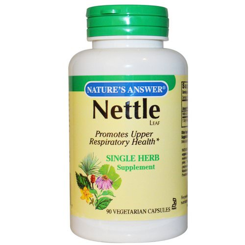 Nature's Answer, Nettle, 900 mg, 90 Vegetarian Capsules Review