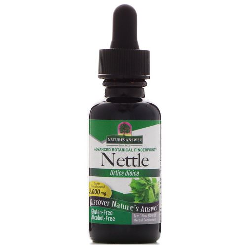 Nature's Answer, Nettle, Urtica Dioica, 2,000 mg, 1 fl oz (30 ml) Review