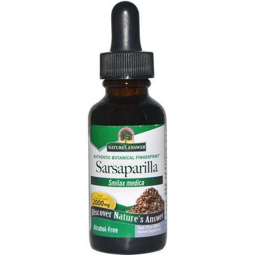 Nature's Answer, Sarsaparilla, Alcohol-Free, 2000 mg, 1 fl oz (30 ml) Review