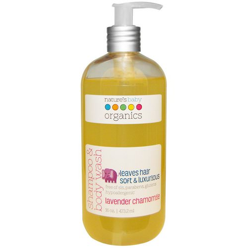 Nature's Baby Organics, Shampoo & Body Wash, Lavender Chamomile, 16 oz (473.2 ml) Review