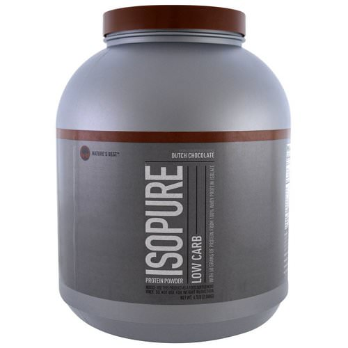 Nature's Best, IsoPure, Low Carb Protein Powder, Dutch Chocolate, 4.5 lbs (2.04 kg) Review