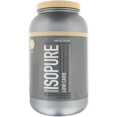 Nature's Best, IsoPure, Low Carb, Protein Powder, Toasted Coconut, 3 lb (1.36 kg) Review
