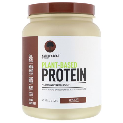 Nature's Best, IsoPure, Plant-Based Protein, Chocolate, 1.37 lb (621 g) Review