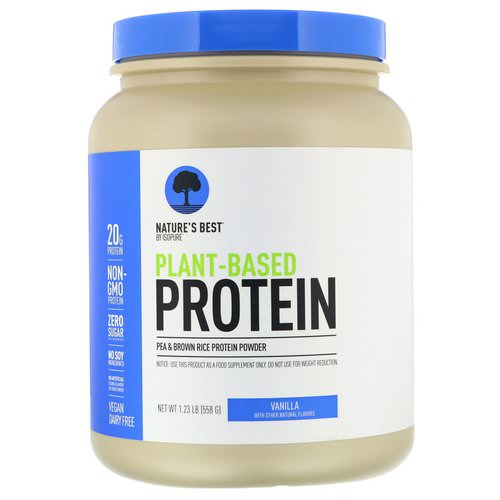 Nature's Best, IsoPure, Plant-Based Protein, Vanilla, 1.23 lb (558 g) Review