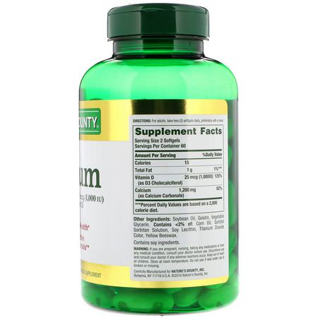 Calcium Plus Vitamin D, Calcium, Minerals, Supplements