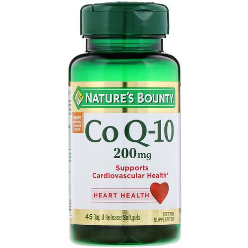Nature's Bounty, Co Q-10, 200 mg, 45 Rapid Release Softgels Review