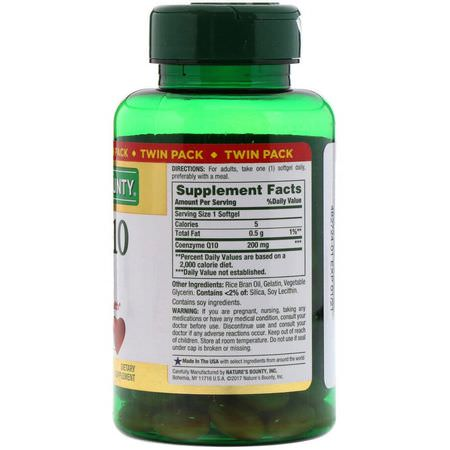 Coenzyme Q10 CoQ10 Formulas, Coenzyme Q10 CoQ10, Antioxidants, Supplements