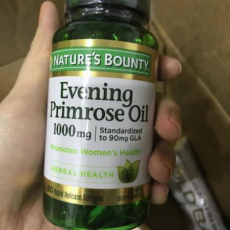 Supplements Women's Health Evening Primrose Oil Laboratory Tested Nature's Bounty