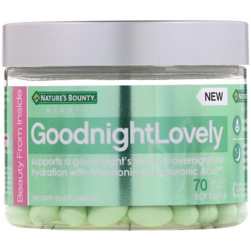 Nature's Bounty, GoodnightLovely, 70 Softgels Review