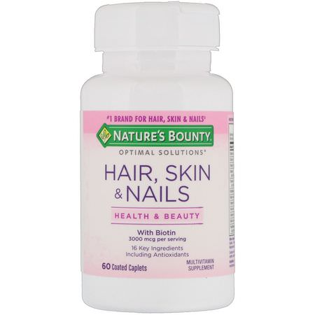 Nature's Bounty, Hair, Skin, Nails Formulas