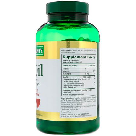 Omega-3 Fish Oil, Omegas EPA DHA, Fish Oil, Supplements