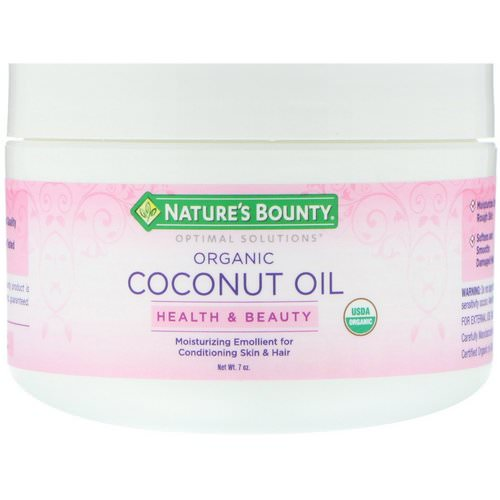 Nature's Bounty, Organic Coconut Oil, 7 oz Review
