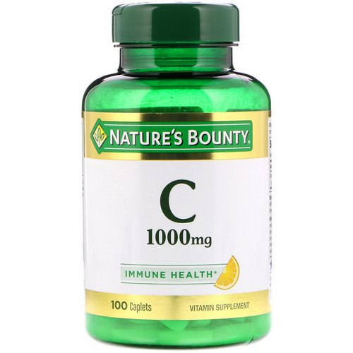 Nature's Bounty, Vitamin C, 1000 mg, 100 Caplets Review