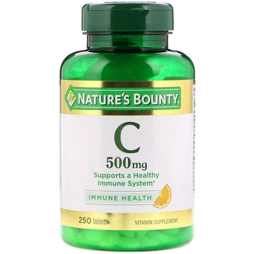Nature's Bounty, Vitamin C, 500 mg, 250 Tablets Review