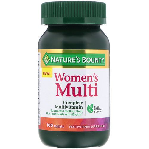 Nature's Bounty, Women's Multi, Complete Multivitamin, 100 Tablets Review