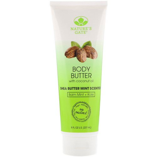 Nature's Gate, Body Butter, Shea Butter Mint Scented, 8 fl oz (237 ml) Review