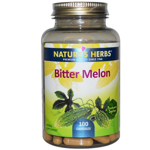 Nature's Herbs, Bitter Melon, 100 Capsules Review