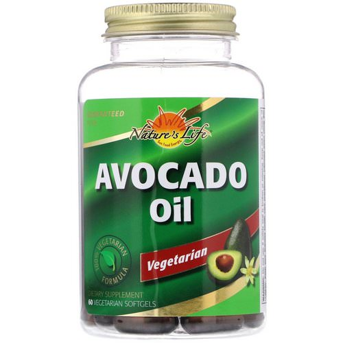 Nature's Life, Avocado Oil, 60 Vegetarian Softgels Review