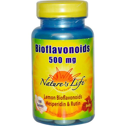 Nature's Life, Bioflavonoids, 500 mg, 100 Tablets Review